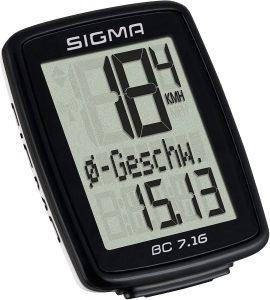 compteur velo Sigma BC 7.16